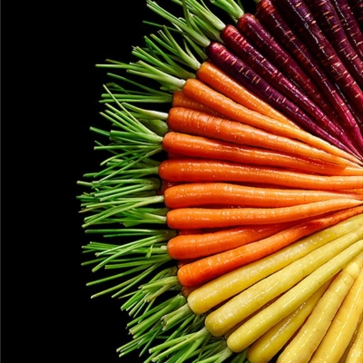 M&S baby rainbow carrots